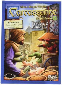 Z-Man Games Carcassonne: Traders Builders [New englisch