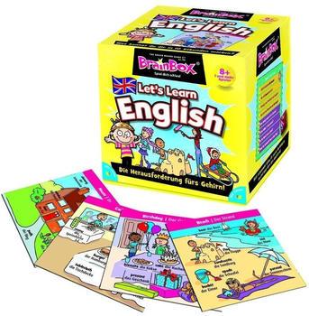 Green Board Games BrainBox Let's Learn English