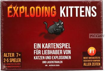 Exploding Kittens Exploding Kittens - Für Liebhaber von Katzen und Exlosionen