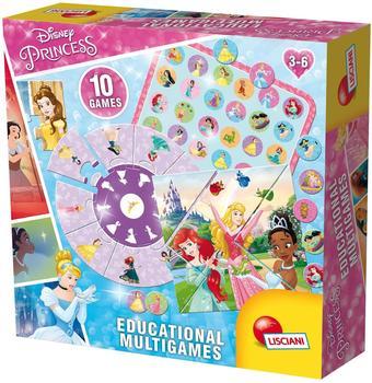Lisciani 10 Spiele - Disney Princess