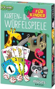 Moses Karten- und Würfelspiele für Kinder