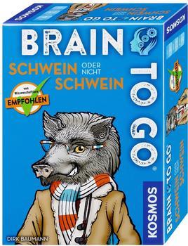 Kosmos BRAIN TO GO - Schwein oder nicht Schwein (690823)