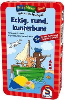 Schmidt-Spiele Eckig, rund, kunterbunt