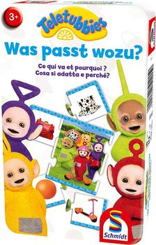 Schmidt-Spiele Teletubbies - Was passt wozu?