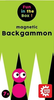 Game Factory Magnetic Backgammon