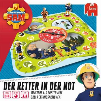 JUMBO Spiele Feuerwehrmann Sam - Der Retter in Not