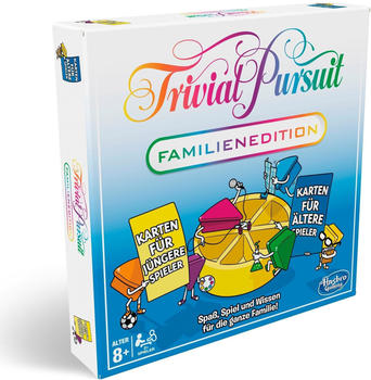 Hasbro - Trivial Pursuit Familien Edition,
