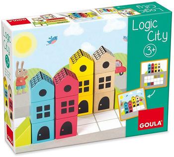 JUMBO Spiele Logic City, Brettspiel