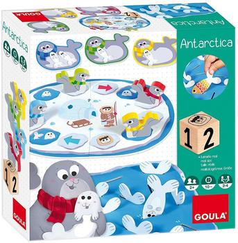 JUMBO Spiele Goula D53147 - Antarktis Spiel, Brettspiel, Kinderspiel