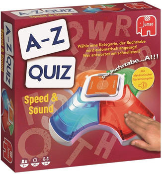 JUMBO Spiele A-Z Quiz Speed & Sound