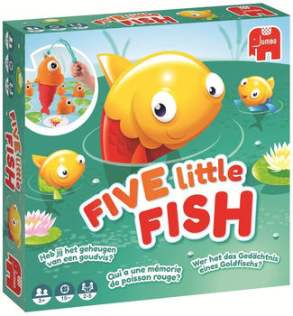 JUMBO Spiele Five Little Fish
