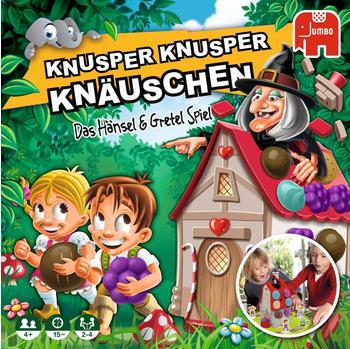 JUMBO Spiele Knusper, Knusper Knäuschen, Geschicklichkeitsspiel