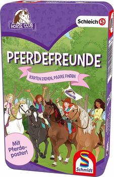 Schmidt Spiele Schleich, Horse Club, Pferdefreunde, Kartenspiel,