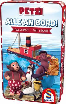 Schmidt Spiele Reisespiel Würfellaufspiel Alle an Bord! (Kinderspiel)