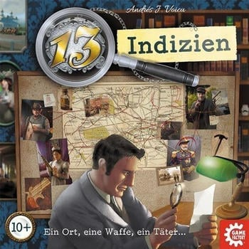 Game Factory 13 Indizien (646217)