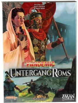 Z-Man Games Pandemic Untergang Roms