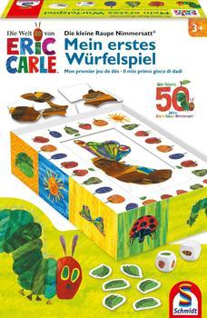 Schmidt Spiele Kinderspiel Würfelspiel Die kleine Raupe Nimmersatt, Mein erstes Würfelspiel 40575