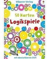 Usborne Verlag 50 Karten: Logikspiele