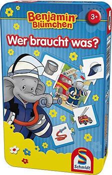 Schmidt-Spiele Benjamin Blümchen - Wer braucht was? (51408)