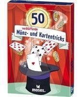 keine Angabe Moses 50 verblüffende Münz- und Kartentricks 30244