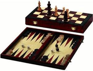 Philos Schach-Backgammon-Dame-Set (2506)