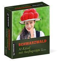 Gmeiner 50 Schwarzwaldrätsel Rätselspiel, Black