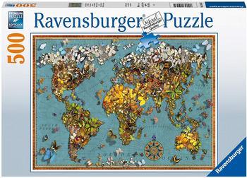 Ravensburger Antike Schmetterl.-Weltk. 500p 15043