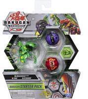 Bakugan Starter Pack mit 3 Armored Alliance Bakugan, Ultra Ventus Dragonoid, Basic Pyrus Trox, Basic Darkus Hydorous (6058413)