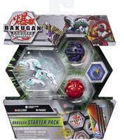 Bakugan- Starter Pack mit 3 Armored Alliance Bakugan, Ultra Haos Trox, Basic Darkus Pharol, Basic Pyrus Nillious (6058414)