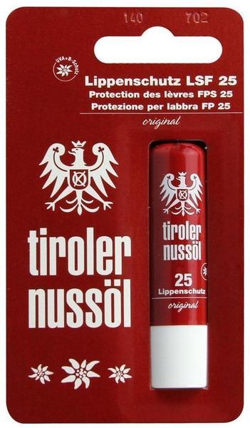Tiroler Nussöl original Lippenschutz LSF 25 (4,8 g)