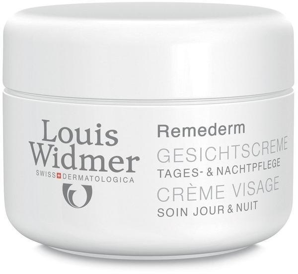 Louis Widmer Remederm Gesichtscreme leicht parfümiert (50ml)