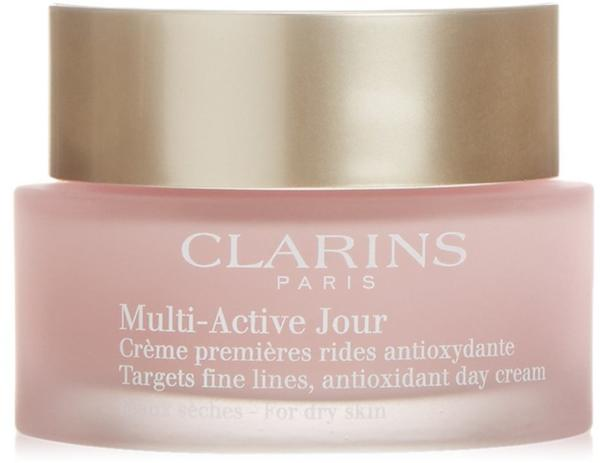 Clarins Multi-Active Day Targets Fine Lines Antioxidant Day Dry Skin (50ml)
