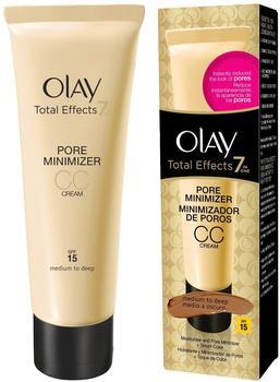 Olaz Total Effects 7 Pore Minimizing CC Cream SPF 15 (50ml)