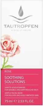 Tautropfen Rose Soothing Solutions Gesichtsmaske (75ml)