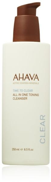 Ahava Time to Clear All-In-One Toning Cleanser (250ml)