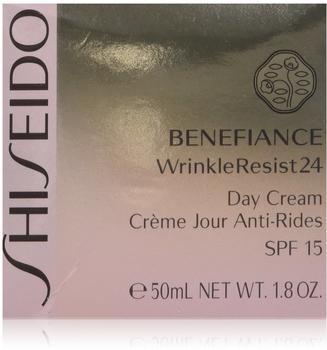Shiseido Benefiance WrinkleResist24 Day Cream SPF 15 (50ml)