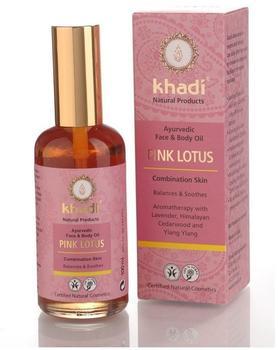 Khadi Pink Lotus Gesichts- und Körperöl (100ml)