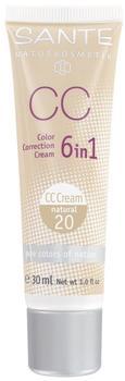 Sante Color Correcting Cream 6 in 1 - 20 natural (30ml)
