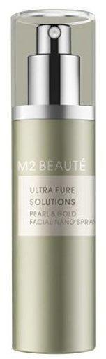M2 Beauté Ultra Pure Solutions Pearl & Gold Facial Nano Spray (75ml)
