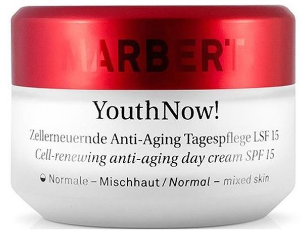 Marbert YouthNow! Zellerneuernde Anti-Aging Tagespflege SPF 15 normale bis Mischhaut (50ml)