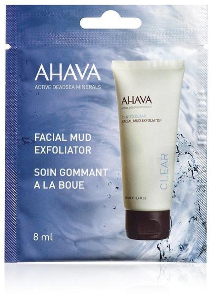 Ahava Time to Clear Facial Mud Exfoliator (8ml)