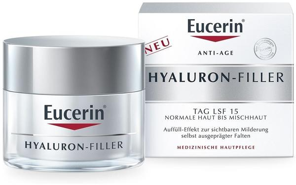 Eucerin Anti-Age Hyaluron-Filler Tag LSF 15 normale Haut bis Mischhaut (50ml)
