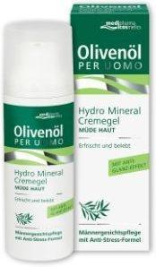Medipharma Olivenöl per Uomo Hydro Mineral Cremegel (50ml)