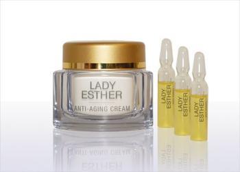 Lady Esther Anti-Aging Cream inkl. 3 Ampullen (50ml)