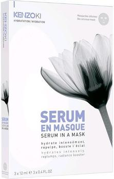 Kenzo Weißer Lotus Serum in a Mask (3x12ml)