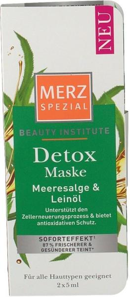 Merz Spezial Beauty Institute Detox Maske (2x5ml)