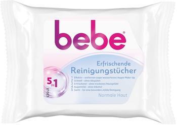 Bebe More Erfrischende Reinigungstücher 5in1 (25 Stk.)