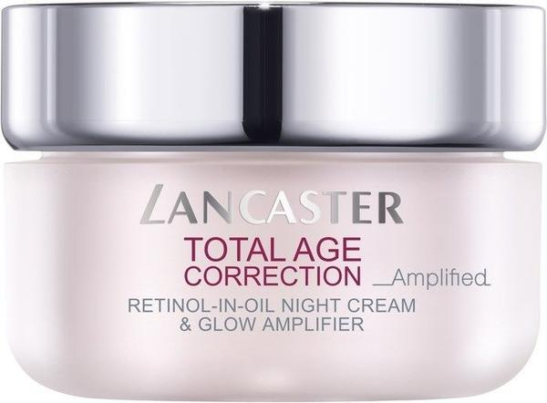 Lancaster Beauty Total Age Correction Amplified Retinol-in-Oil Night Cream & Glow Amplifier SPF 15 (50ml)