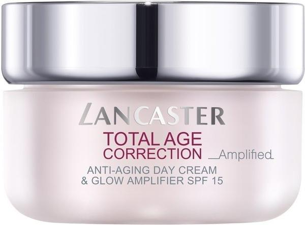 Lancaster Beauty Total Age Correction Amplified Anti-Aging Day Cream & Glow Amplifier SPF15 (50ml)