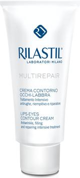Rilastil Multirepair Lips Eyes Contour Cream (15ml)